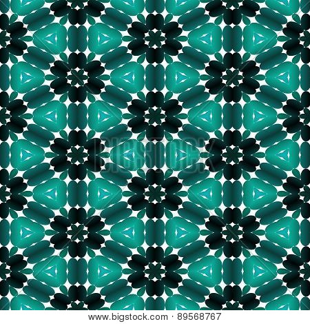 Kaleidoscopic Mosaic Pattern Seamless Generated Texture