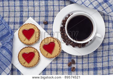 Cookies With Jujube And Coffee
