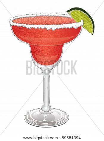 Margarita-Strawberry