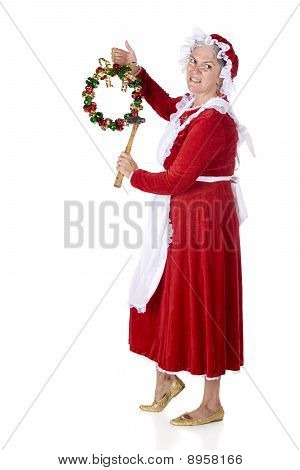 Mrs. Claus Decorating