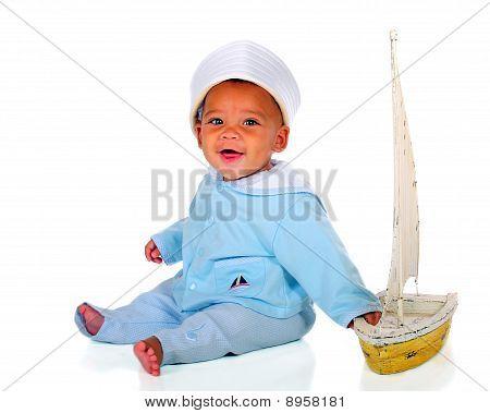 Happy Sailor Baby