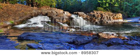 Lucia Falls Panoramic