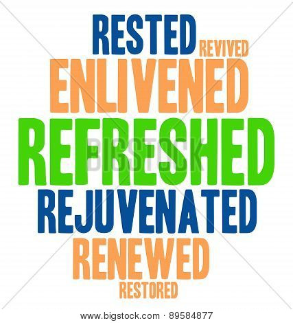 Refreshed Word Cloud