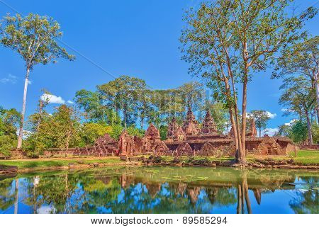 Banteay Srei Temple at Siem Reap Cambodia
