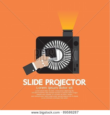 Slide Projector An Opto-mechanical Device To Show Photographic Slides.