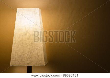 Cloth Lamp In The Dark