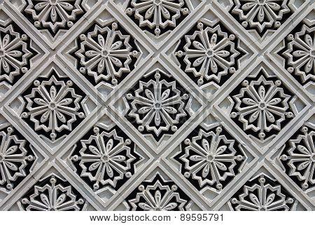 Carved Tile At The Malaysian Royal Palace