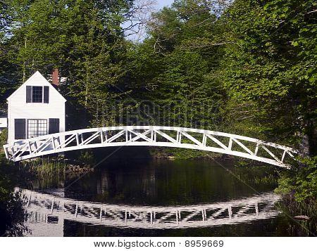 Somesville Footbridge, Maine