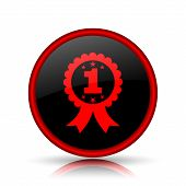 pic of prize  - First prize ribbon icon - JPG