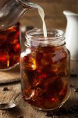 pic of brew  - Homemade Cold Brew Coffee to Drink for Breakfast - JPG