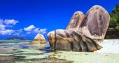 image of unique landscape  - Seychelles   - JPG