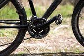 foto of mountain chain  - Photo of mountain bike - JPG