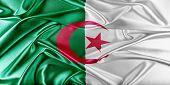 stock photo of algeria  - Algeria Flag - JPG