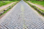 picture of interlocking  - The ancient road of  - JPG