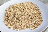 picture of buckwheat  - cooked buckwheat  - JPG