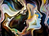stock photo of expressionism  - Forces of Nature series - JPG
