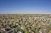 picture of collins  - aerial view of Fort Collins residential area - JPG