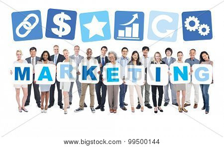 Marketing Business People Team Teamwork Success Strategy Concept