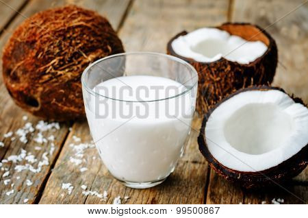 Coconut Milk And Coconuts