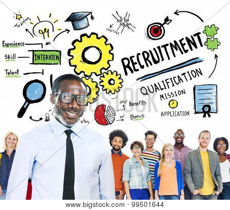 Ethnicity People Leadership Recruitment Hiring Concept