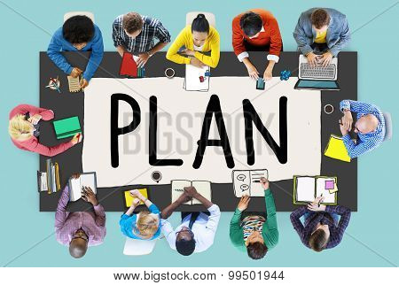Plan Planning Ideas Mission Process Concept