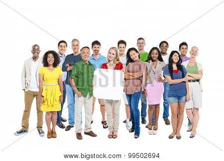 Diverse Diversity Ethnic Ethnicity Variation Team Unity Concept