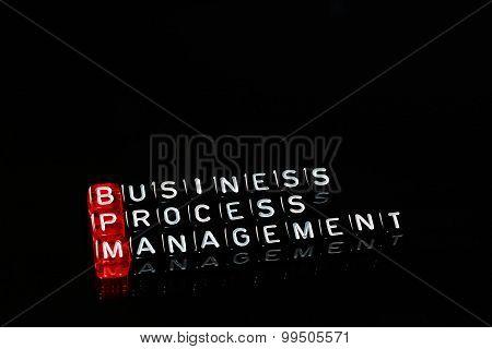 Bpm Business Process Management Black