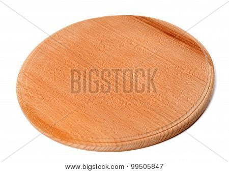 Round Wooden Kitchen Board