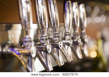 Taps in a Bar