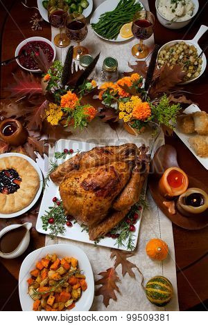 Rustic Thankgiving Dinner