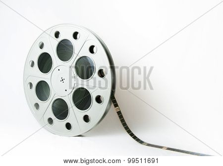 35Mm Cinema Big Movie Reel With Film