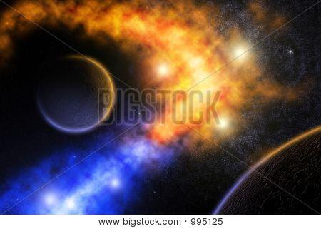 When Nebulas Meet