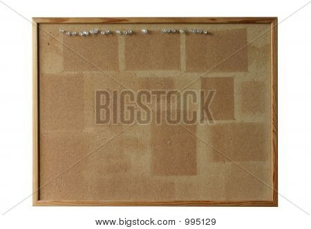 Cork Board  Isolated