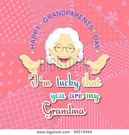Grandmother and grandfather day