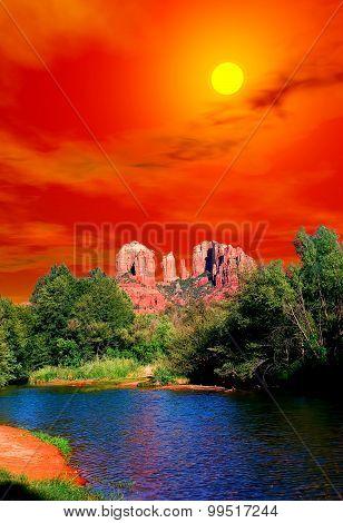 Rising Sun Sedona Arizona
