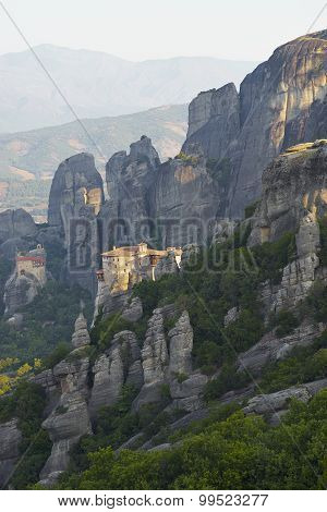 Monastery At Sunrise