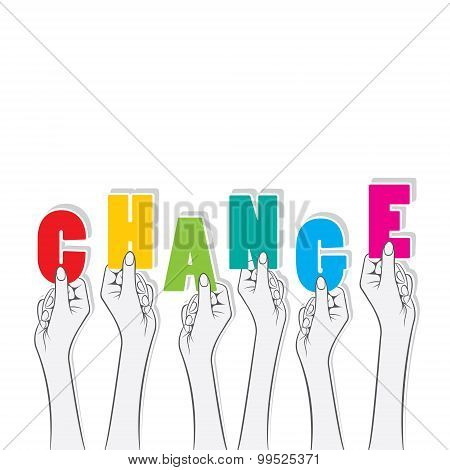 change banner concept design