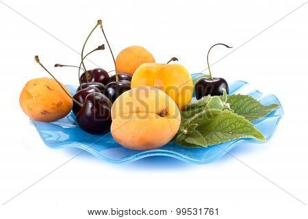 Fruits On A Saucer