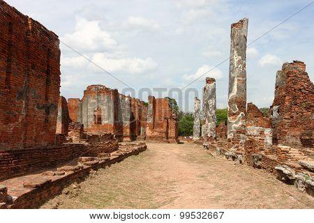 Wat Phra Si Sanphet. Ayutthaya historical park,
