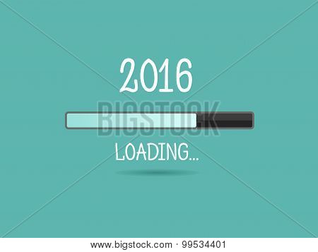 2016 Loading. Progress Bar.