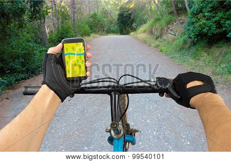 Search Gps Coordinates In Bike