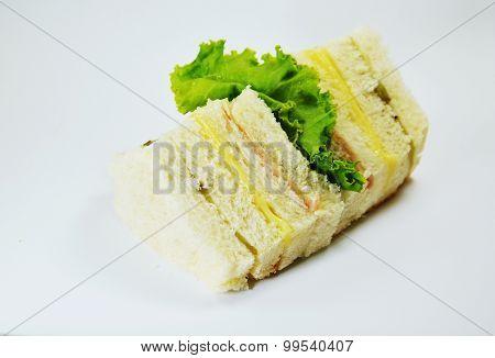 sandwich cheese and pork bologna