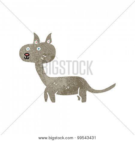 retro cartoon cat