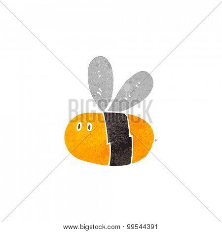 retro cartoon bee
