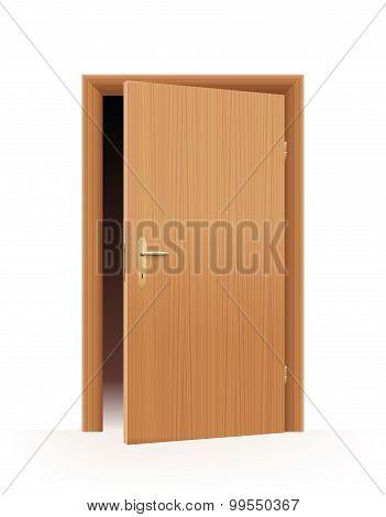 Half Open Door
