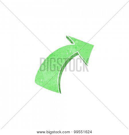 retro cartoon pointing arrows