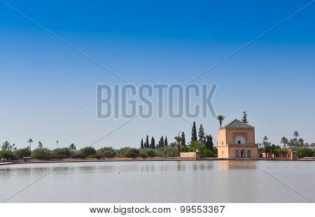 Menara parc in Marrakech Morocco Africa 2015