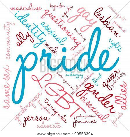 Pride Word Cloud
