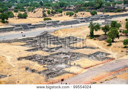 Ruins of Teotihuacan Pyramids, Mexico