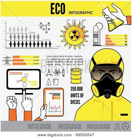 oil and gas industry infographics, extraction